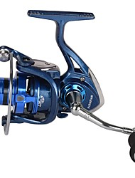 HiUmi Spinning Fishing Reel XKR2000-5000 Fish Coil Wheel Baitcasting Fishing Reel Spinning Reel With Spare Spool De Pesca