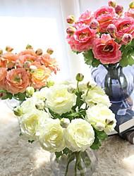 1pcs The Wind Mei Liu Lian Rose Tea Simulation Flowers Wedding Leave Home Decoration Silk Flowers