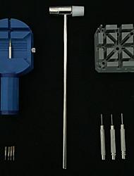 Trousse d'outils de réparation de lunettes réglable arrière ouvre-abri couvercle dégraissant vis horloger ouvrir la batterie