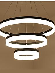 moderne contractée salon lampe droplight bureau circulaire de la personnalité créative salle à manger lampe lampe d'art lampe lumière