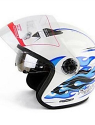 YOHE YH-856 Double Lens Helmet Helmet Men And Women Electric Car Motorcycle Dual Mirror Helmet Color Version