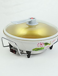 Korean Multi - functional Circular Multi - file Temperature Control Non - stick Electric Pot