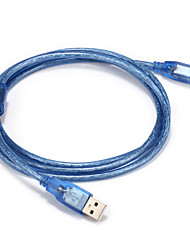 USB 2.0 Cable, USB 2.0 to USB tipo B Cable Macho - Macho 3,0 M (10 pies)