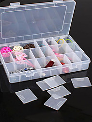 Storage Boxes Jewelry Boxes Jewelry Storage Box Jewelry Organizers Makeups Storage Plastic with 1 Set of Storage Boxs , Feature is Lidded