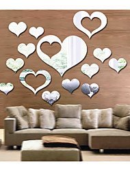 Love Sitting Room Bedroom Specular Adornment Wall Stick Type Combination