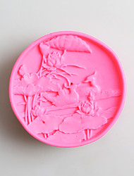 Moldes de bolos para Candy Silicone Aniversário Ano Novo Dia de Ação de Graças