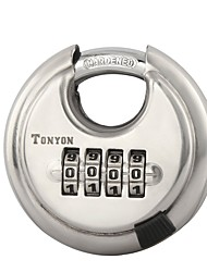 TONYON 25005 Password Unlocked 4 Digit Password Door Lock Dail Lock and Password Lock