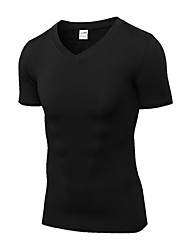 Men's Running T-Shirt Short Sleeves Fitness, Running & Yoga Quick Dry Sports T-shirt Sweatshirt Top for Running/Jogging Cycling Exercise