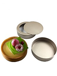 2Piece/Set mini Cake Molds Round pie pan Kids Baking Tool 8cm cake pan