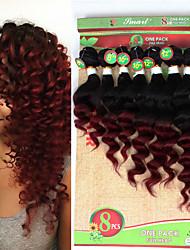 Riccio Trecce ricci Extensions per capelli capelli Trecce
