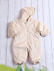 Baby Children's New Baby Cotton Casual/Daily Solid Color One-Pieces All Seasons