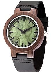 Муж. Спортивные часы Модные часы Уникальный творческий часы Повседневные часы Часы Дерево Наручные часы Кварцевый деревянныйНатуральная