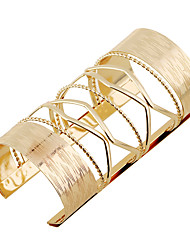 Women's Bangles Cuff Bracelet Fashion Punk Rock Metal Alloy Alloy Rectangle Jewelry ForParty/Evening Shopping Birthday Party Casual/Daily