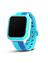 Kid's Smart Watch Fashion Watch Digital Silicone Band Blue Purple