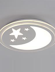 Montage du flux ,  Contemporain Peintures Fonctionnalité for LED Graduable MétalSalle de séjour Chambre à coucher Cuisine Bureau/Bureau