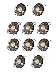 LED a incasso Luce fredda 10 pezzi