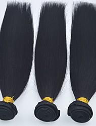 Cabelo Humano Ondulado Cabelo Brasileiro Retas 6 meses 1 Peça tece cabelo