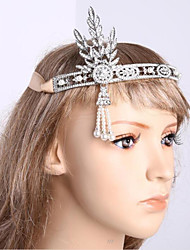 Bridal Crown Jewels/Alloy Water Diamond Pearl Hair Ornaments
