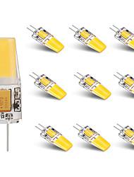 3W Luci LED Bi-pin T 1 COB 250 lm Bianco caldo Bianco V 10 pezzi
