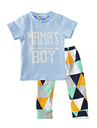 Baby Kids' Indoor Outdoor Casual/Daily Print Clothing Set Summer