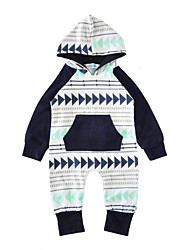 Baby Print One-Pieces Cotton Spring/Fall Winter Long Sleeve Hooded Baby Romper Kids Jumpsuits Bodysuits for Newborn Boys