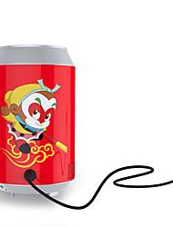 Kemin portátil usb pode moldar refrigerador mini coca-gelada refrigerador usb refrigeração geladeira presente