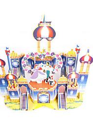 Jigsaw Puzzles DIY KIT 3D Puzzles Building Blocks DIY Toys Castle Architecture High Quality Paper
