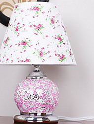 Modern Simple European Pastoral LED Living Room Bedside Lamp With Remote Control Switch