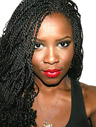 Ombre Senegalese Twist Crochet Braid Hair Synthetic Two Tone Afro Pre-twist Flashy curl Braiding Braid Hair Extension