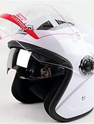YOHE YH-856 Double Lens Helmet Helmet Men And Women Electric Car Motorcycle Dual Mirror Helmet