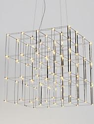 Lampadaire led moderne lampe en acier inoxydable 90-240v lampe pour salon éclairage de loft hôtel