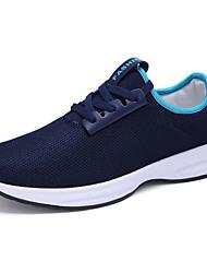 Для мужчин Спортивная обувь Удобная обувь сутулятся сапоги Ткань Весна Осень Атлетический Удобная обувь сутулятся сапоги ШнуровкаНа