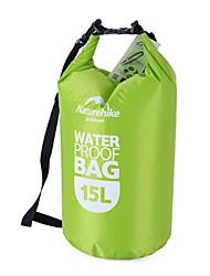 Naturehike 15 L Bolsa seca Bolso del teléfono celular Impermeable Portátil Secado rápido para Natación Playa Al Aire Libre Deportes de
