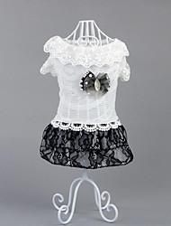 Chien Robe Vêtements pour Chien Décontracté / Quotidien Princesse