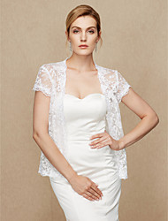 Women's Wrap Coats/Jackets Lace Wedding Party/ Evening Lace