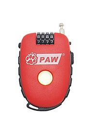 PAW TL981 Password Lock Password Unlocking 4 Digit Password Bicycle Lock Dail Lock Password Lock
