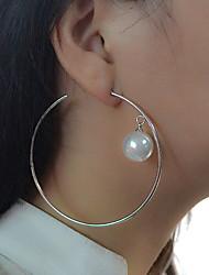 Femme Boucles d'oreille goutte Boucles d'oreille gitane Basique Circulaire Original Pendant Cercle Amitié Mode Bijoux Fantaisie Vintage