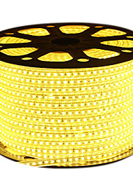 72W Strisce luminose LED flessibili 6950-7150 lm AC220 V 5 m 600 leds Bianco caldo Bianco Blu