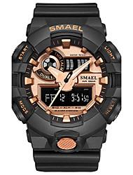 Муж. Спортивные часы Модные часы электронные часы Японский Кварцевый ЦифровойСекундомер Защита от влаги Ударопрочный Хронометр