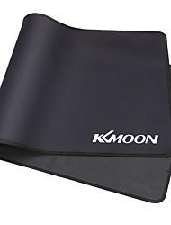 Kkmoon 600 * 300 * 3mm grande taille noir simple étendu anti-dérapant antidérapant en caoutchouc jeu de jeu jeu de souris tapis de souris