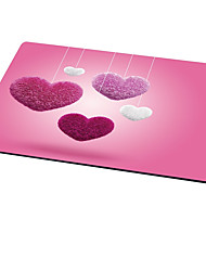 Ajazz Heart-Shaped Mouse Pad Cute Style Rubber Cloth 21CM*26CM*0.3CM