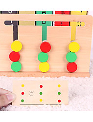 Educational Flash Cards For Gift  Building Blocks Wooden 1-3 years old 3-6 years old Toys