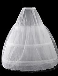 Jupe Lolita Classique/Traditionnelle Lolita Cosplay Vêtrements Lolita Blanc Couleur Pleine Long Robe Pour Organza