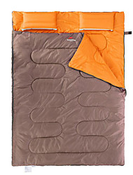 Спальный мешок Прямоугольный Двуспальный комплект (Ш 200 x Д 200 см) 5 Пористый хлопокX145 Походы Сохраняет тепло Компактность Naturehike
