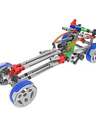 Kit de Bricolage Modèle d'affichage Blocs de Construction Jouet Educatif Pour cadeau Blocs de Construction Automatique ChariotPlastique