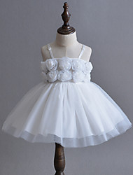 Baby Flower Dress,Polyester Summer-
