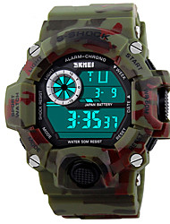 SKMEI® 1019 Men's Woman Watch Outdoor Sports Multi - Function Watch Waterproof Sports Electronic Watches 50 Meters Waterproof