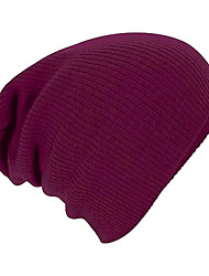 Men's Cotton Beanie/Slouchy,Simple Solid All Seasons