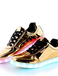Men's Shoes Synthetic Microfiber PU Spring Fall Comfort Light Soles Light Up Shoes Sneakers Lace-up For Casual Party & Evening Outdoor