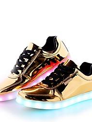 Herren Schuhe Künstliche Mikrofaser Polyurethan Frühling Herbst Komfort Leuchtende Sohlen Leuchtende LED-Schuhe Sneakers Schnürsenkel Für